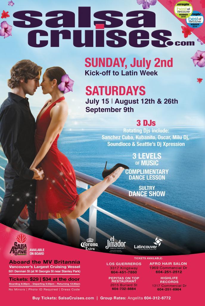 Summer Salsa Cruise Series 2017 - Aug 26